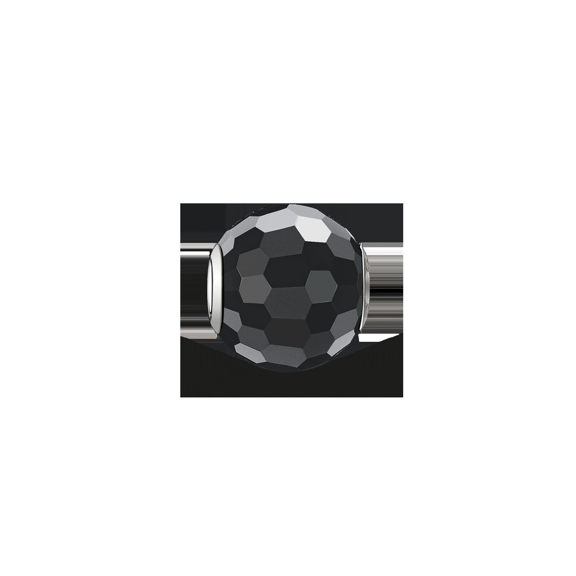 "Thomas Sabo - Bead ""obsidian faceted"" - 1"