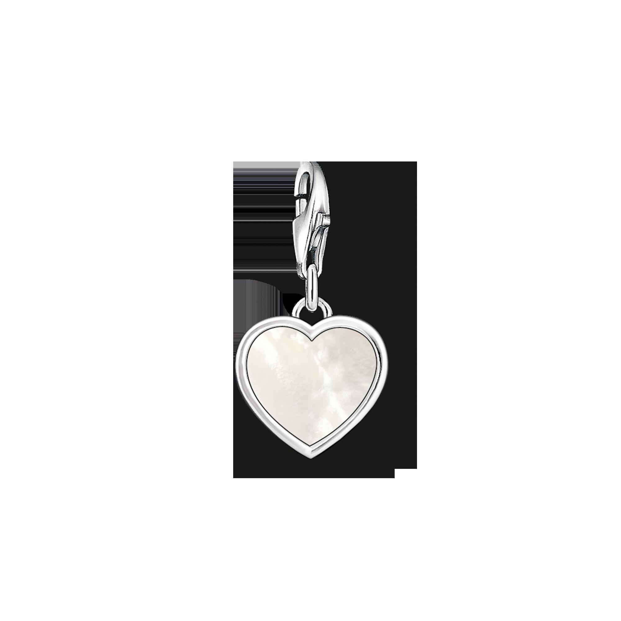 "Thomas Sabo - Charm pendant ""mother-of-pearl heart"" - 1"