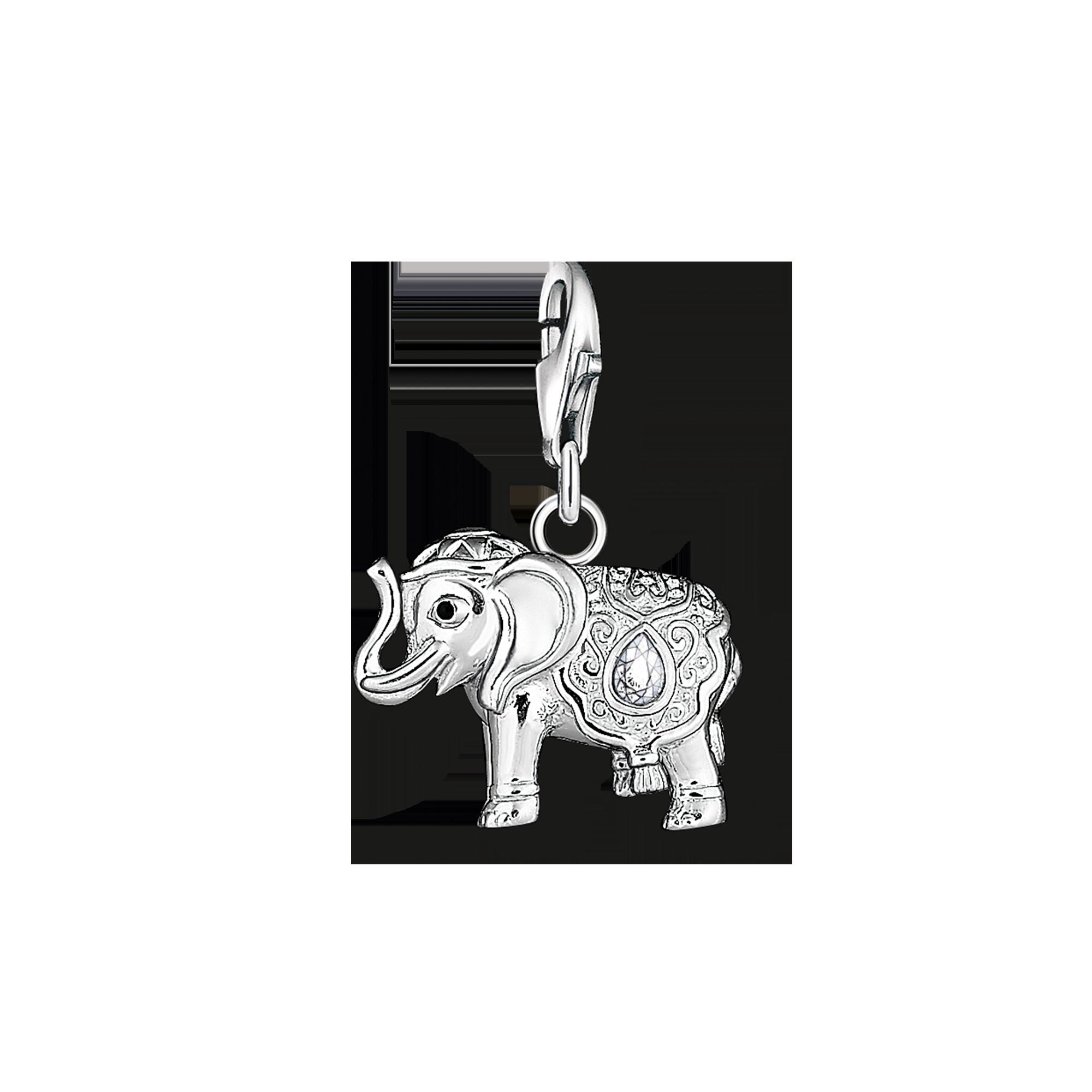 """Thomas Sabo - Charm pendant """"Indian elephant"""" - 1"""