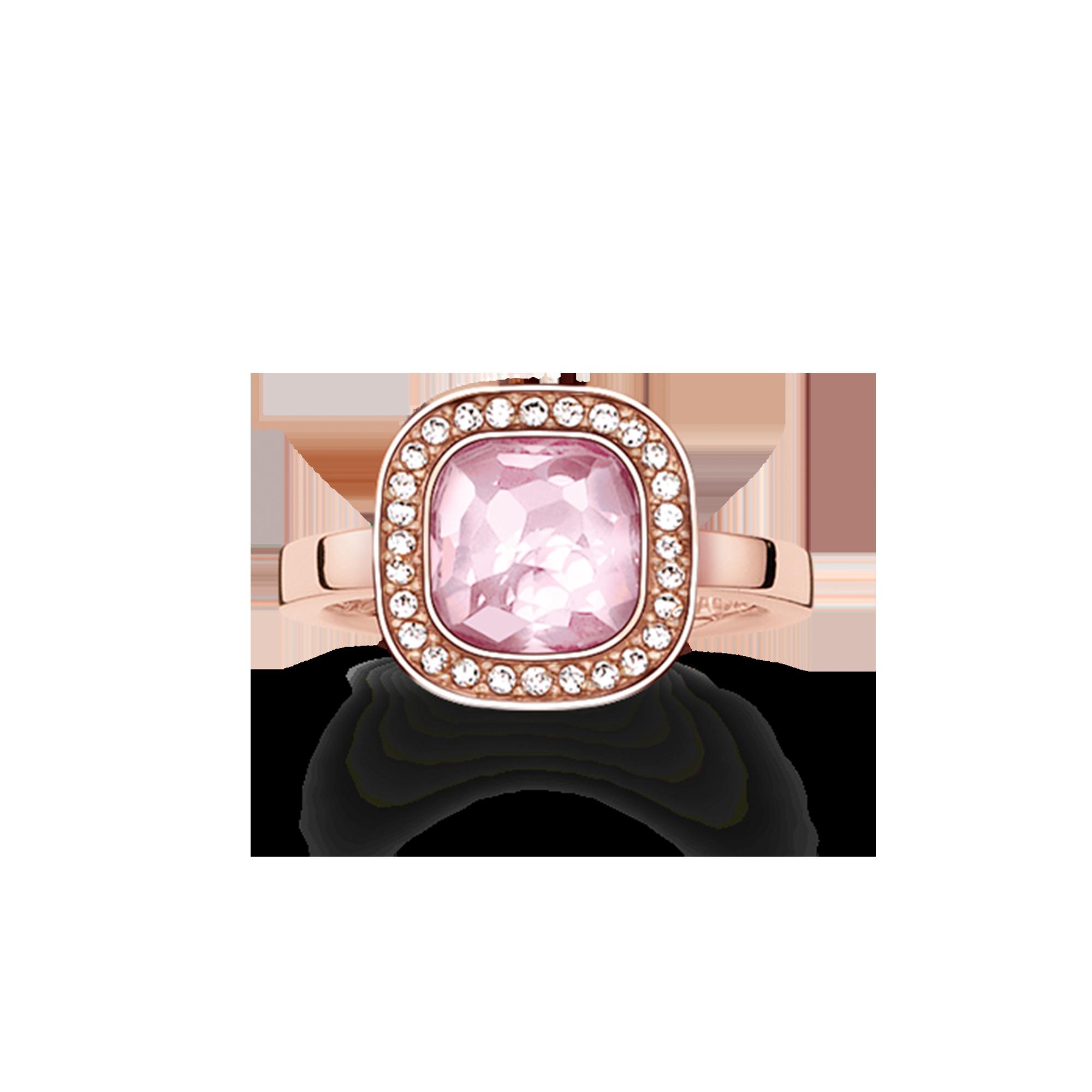 Thomas Sabo - anillo rosa - 1