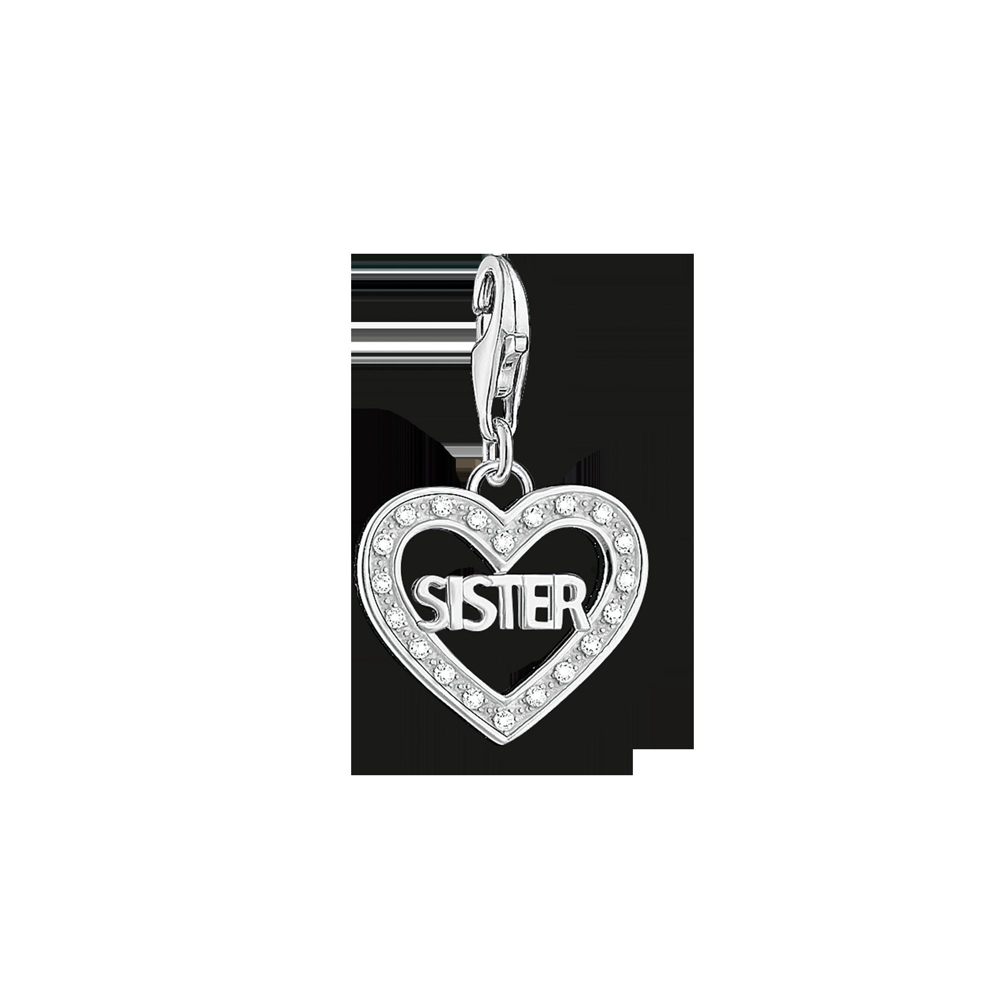 "Thomas Sabo - Charm pendant ""SISTER"" - 1"