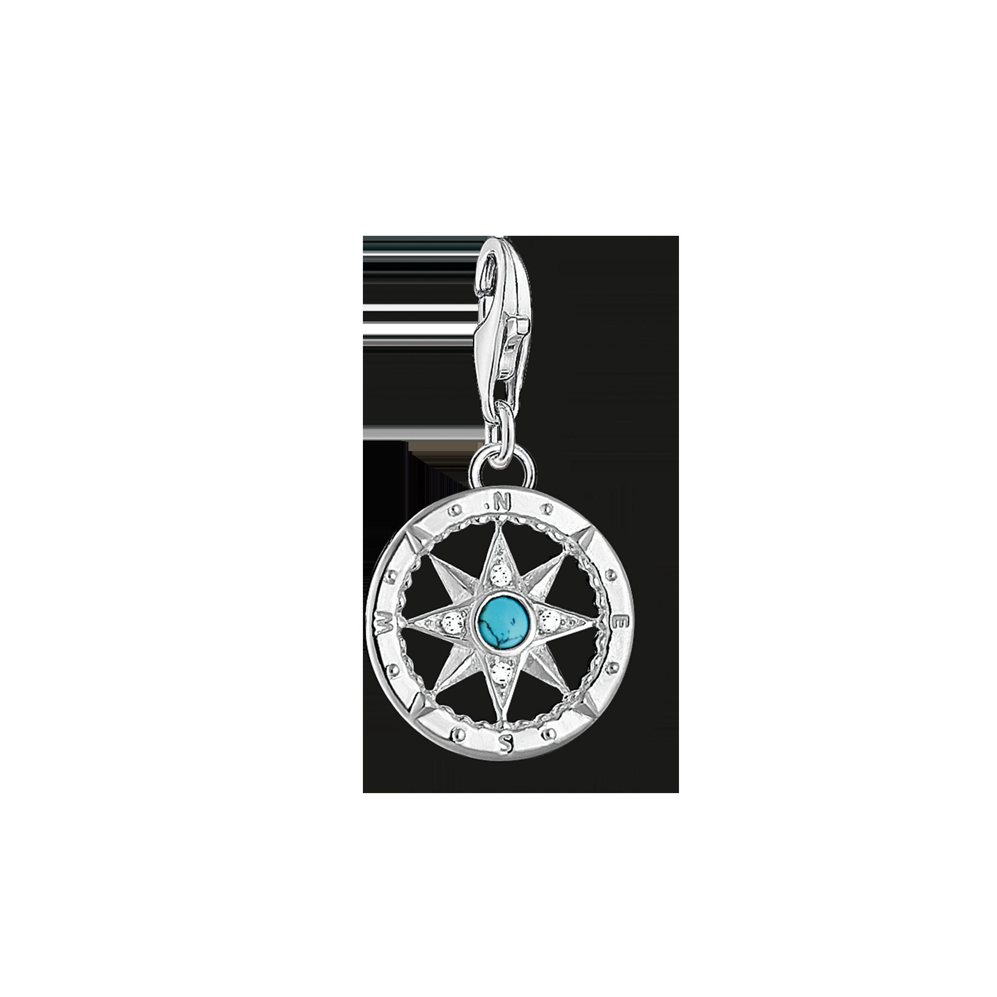 """Thomas Sabo - Charm pendant """"compass"""" - 1"""