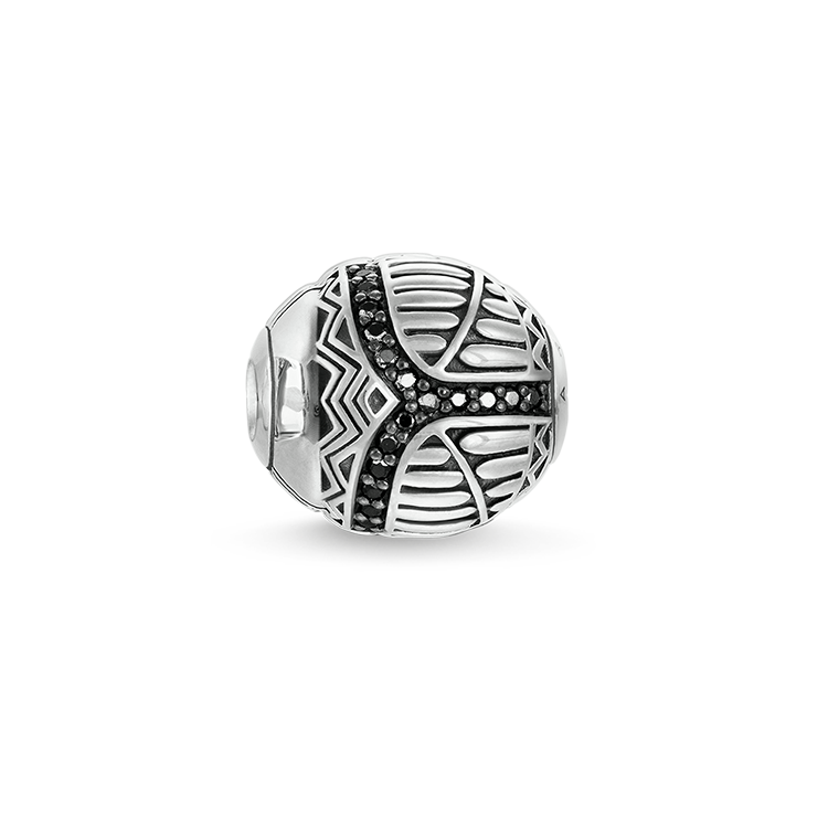 "Thomas Sabo - Bead "" scarab"" black - 1"
