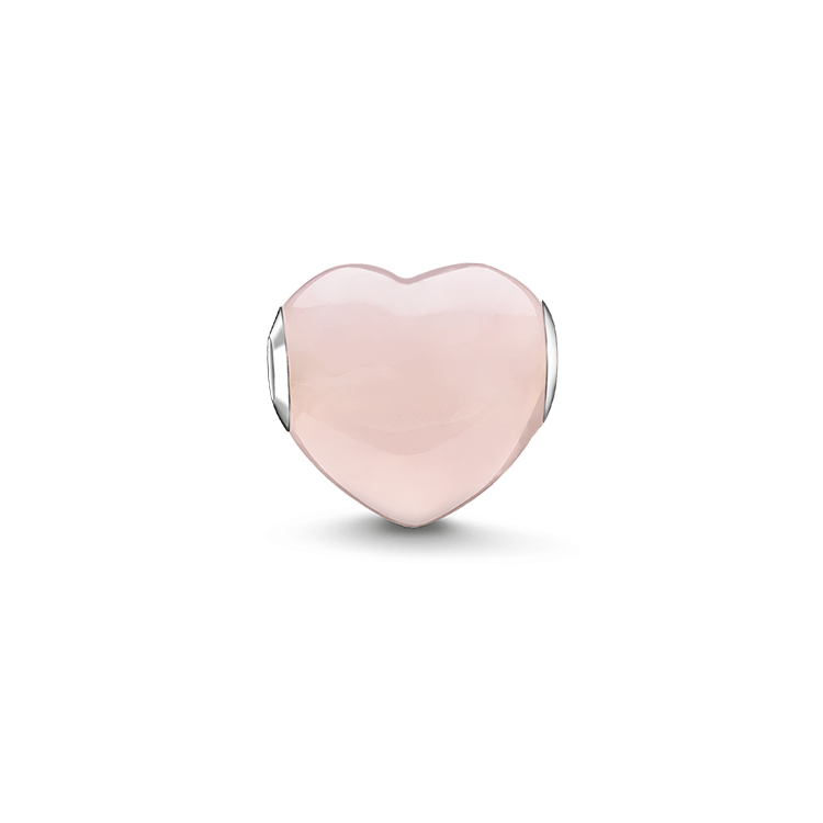 "Thomas Sabo - Bead "" heart"" pink - 1"