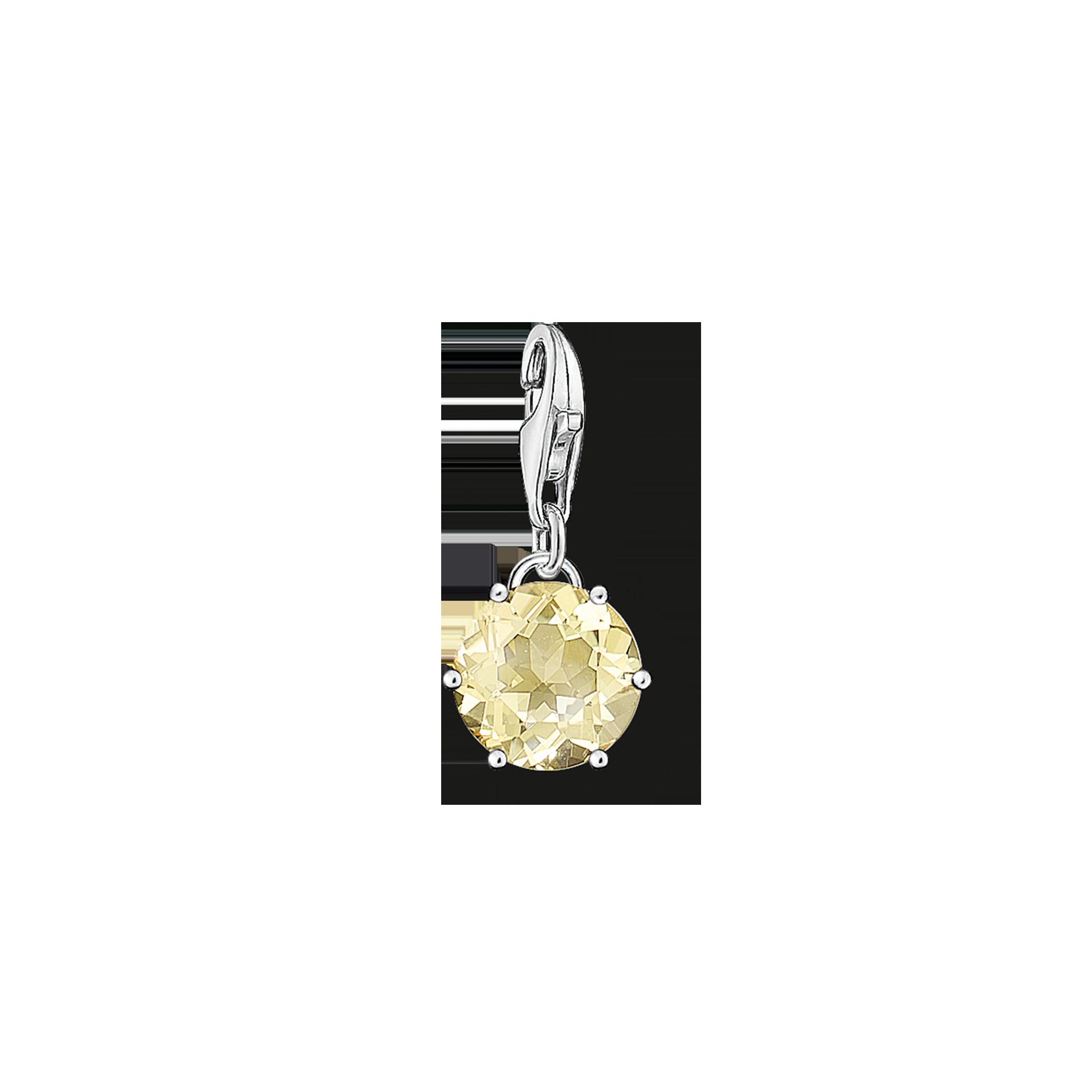 "Thomas Sabo - Charm pendant ""birth stone November"" - 1"