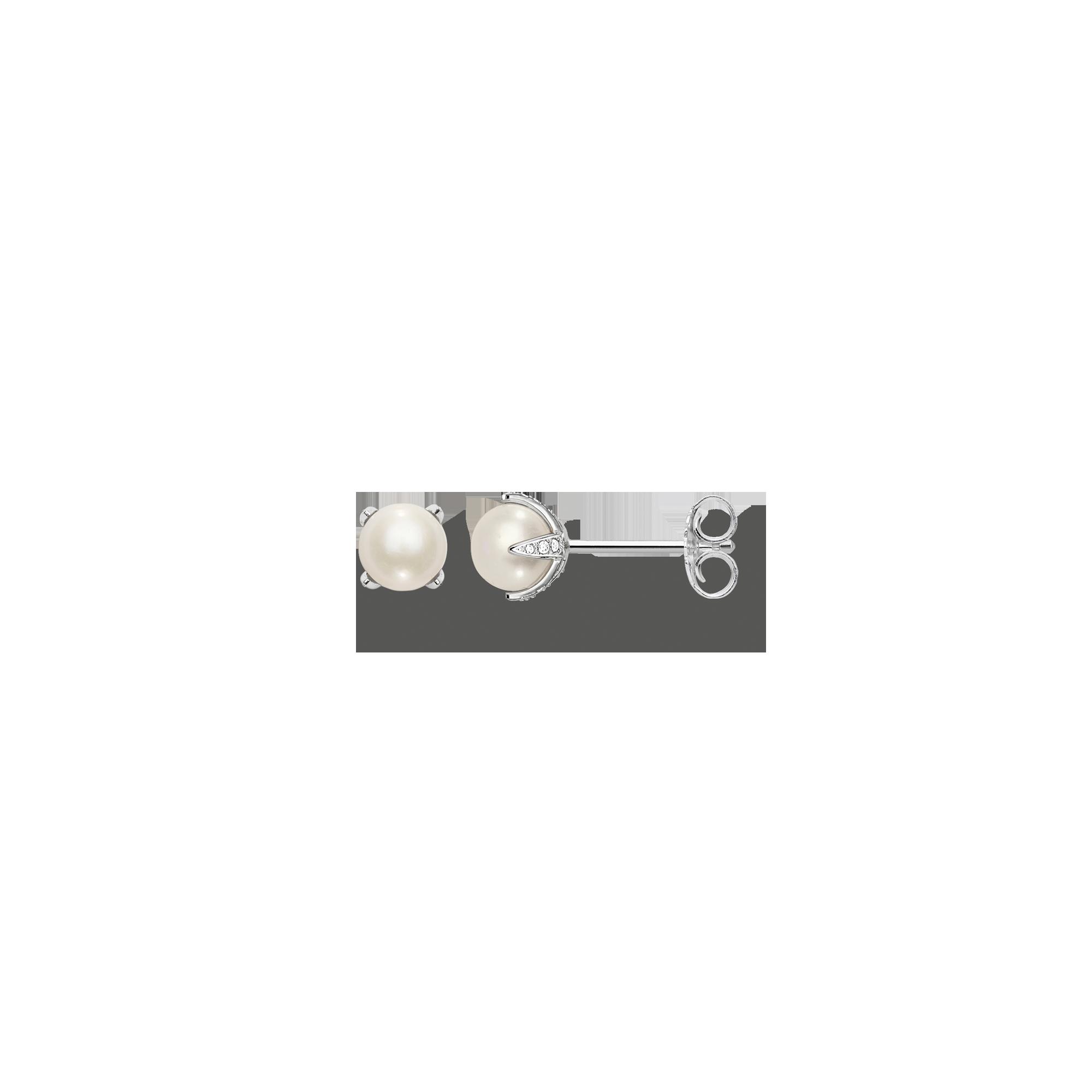 Thomas Sabo - pearl ear studs - 1