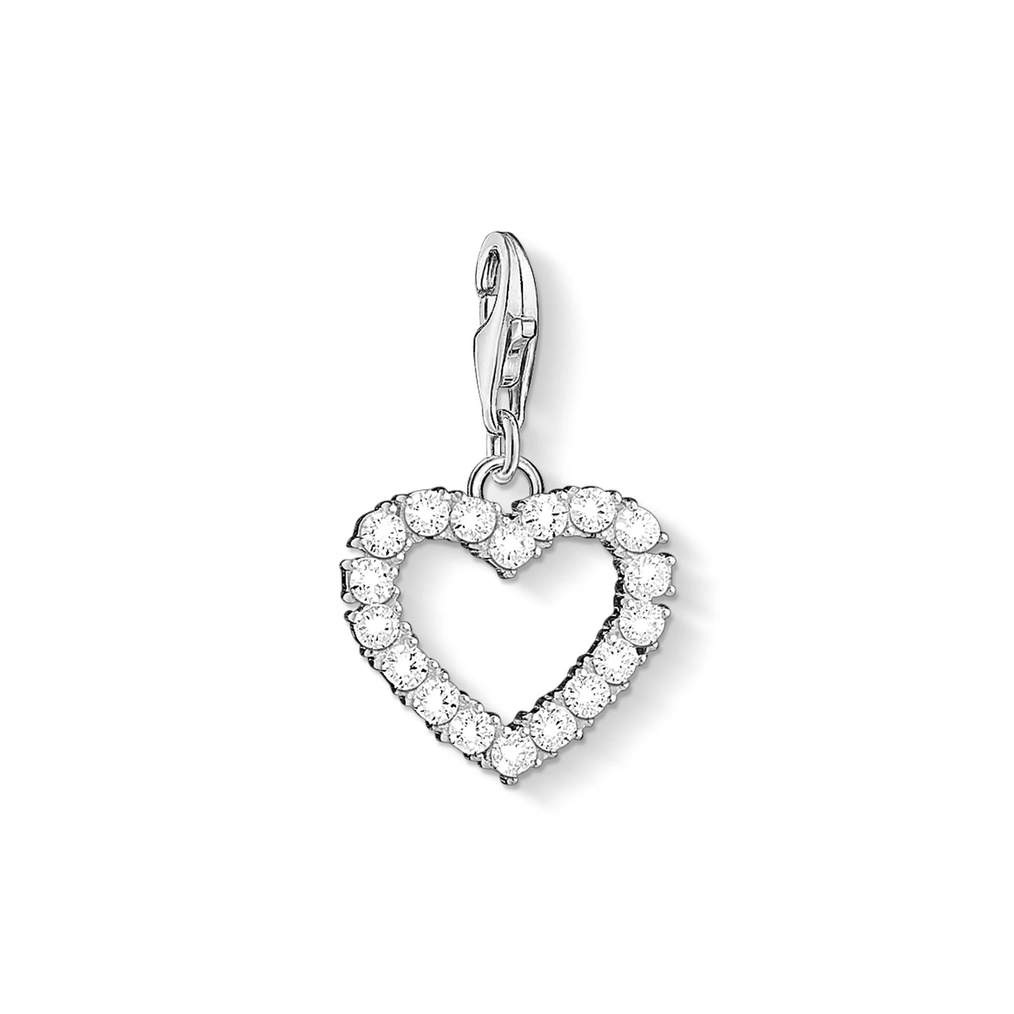 "Thomas Sabo - Charm pendant ""Romantic heart "" - 1"