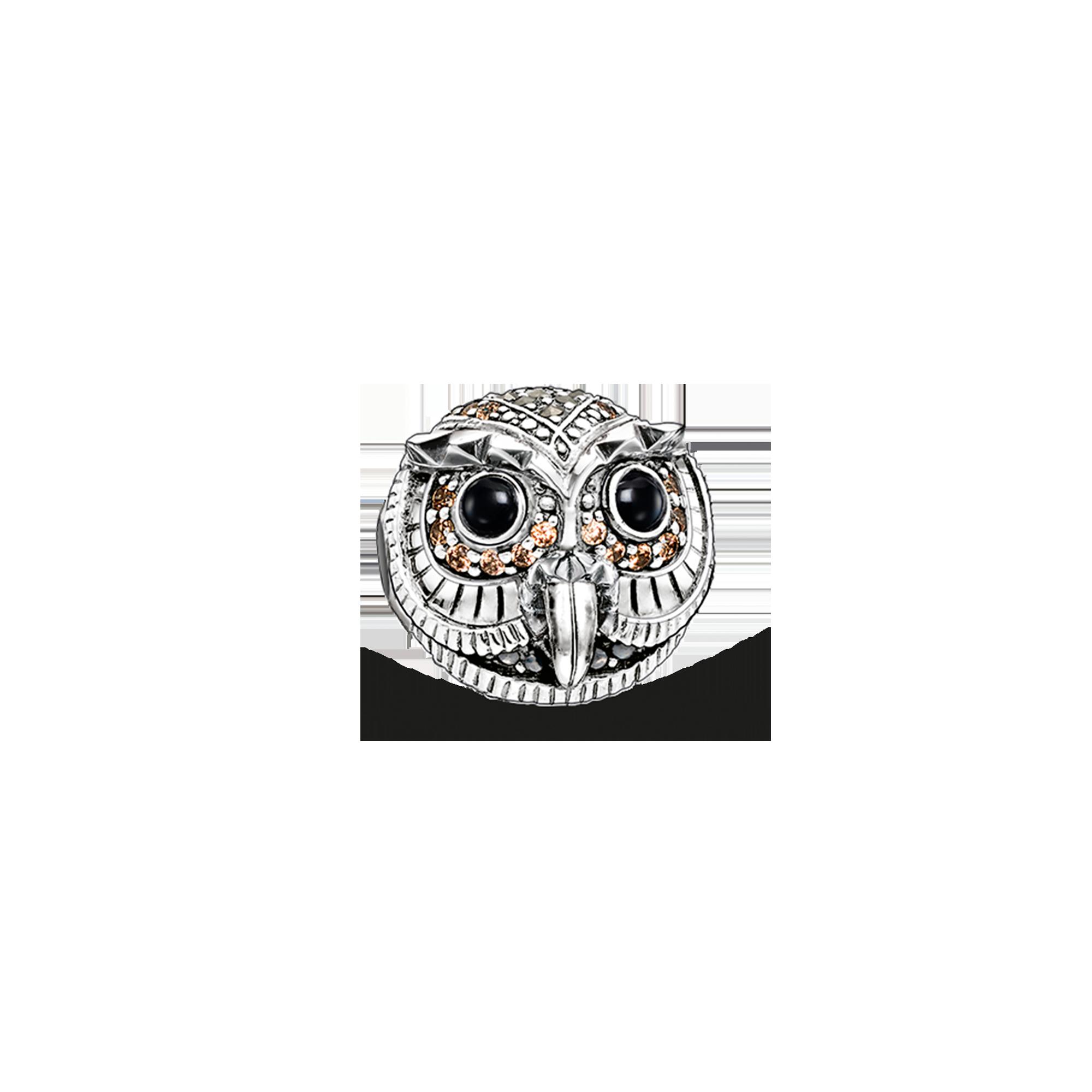 """Thomas Sabo - Bead """"owl"""" - 1"""
