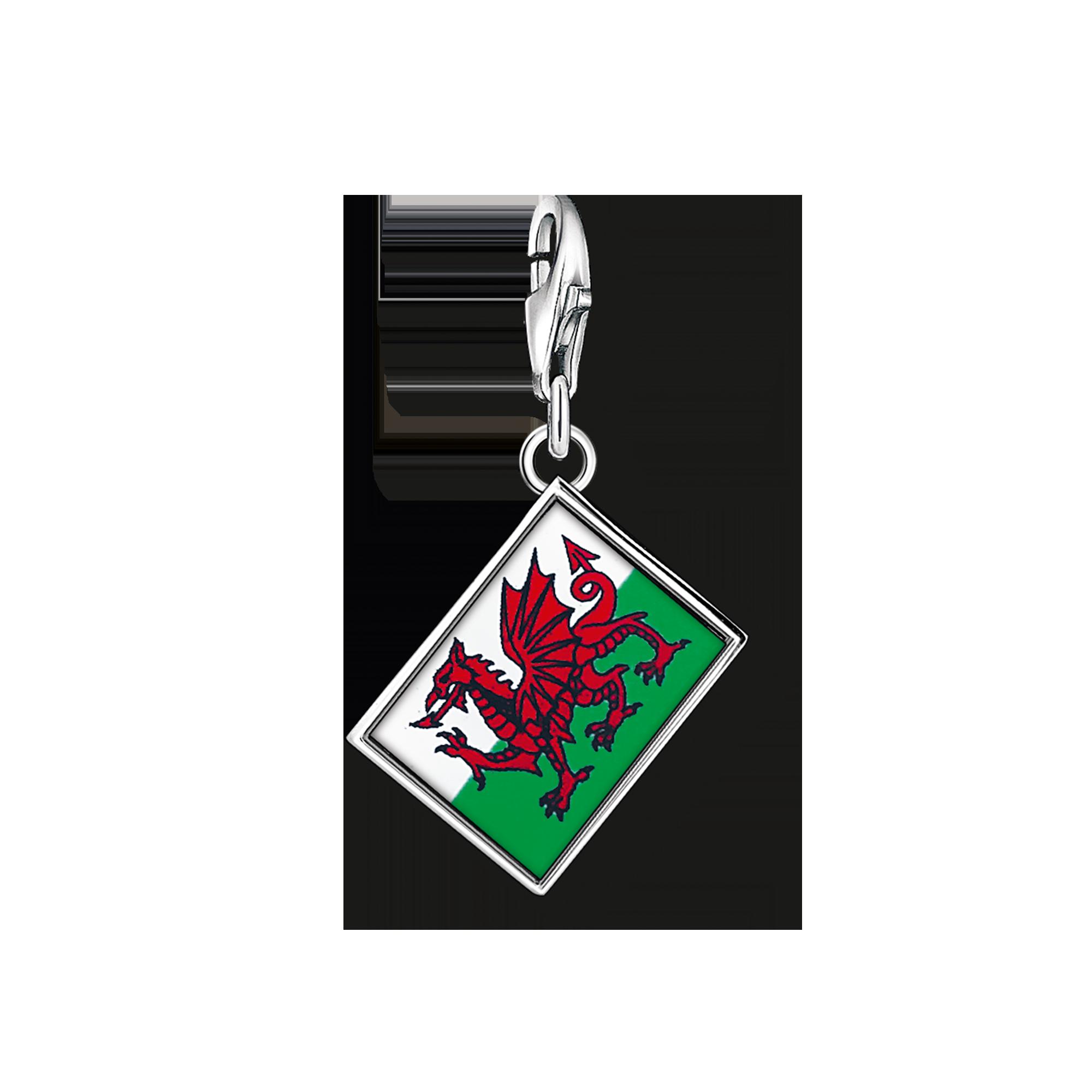 "Thomas Sabo - Charm pendant ""flag Wales"" - 1"